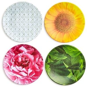 1 set of 4 Kate Spade Tidbit plates-2 available